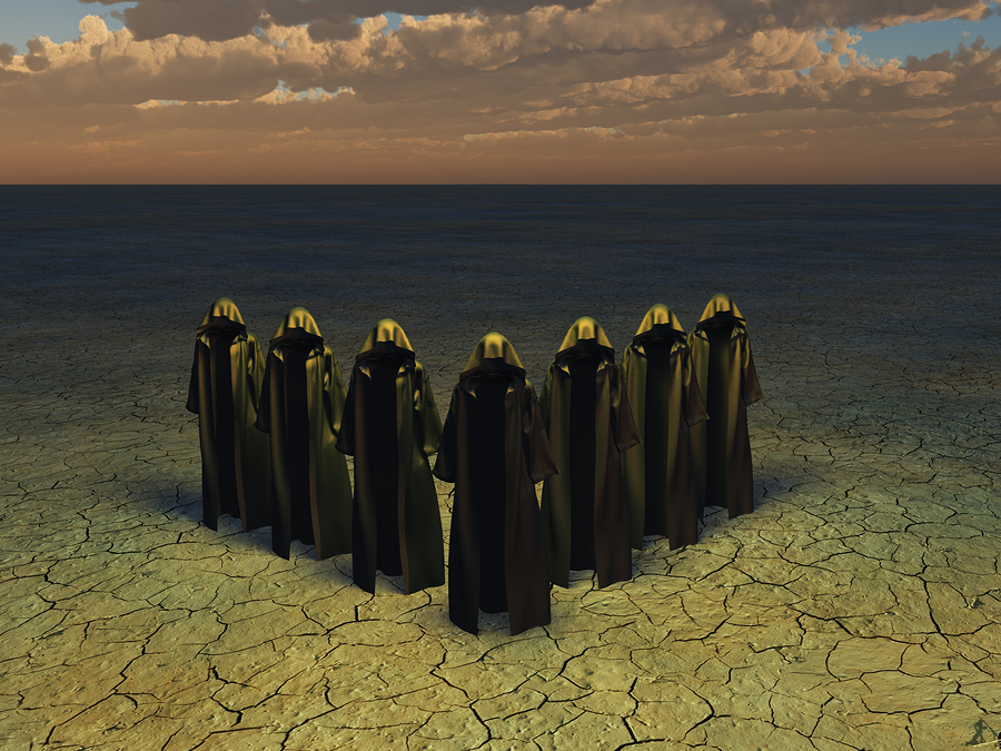 Church Enforcer Magicians in the Fantasy World of Sye in Tredan's Bane