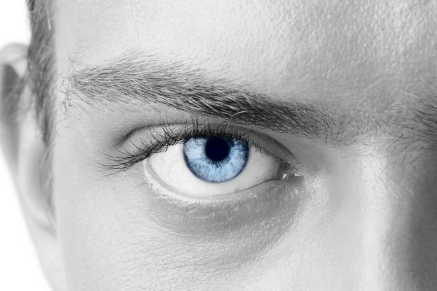 He Loves Blue Eyes