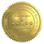Excellence in Authorship 5 Star Review by Chameleon for Authors' Cave
