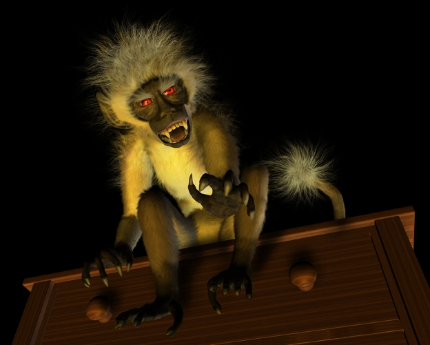 Malfunctioning Rig Monkey