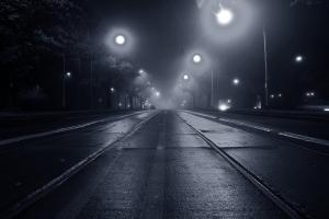 It's always nighttime & raining