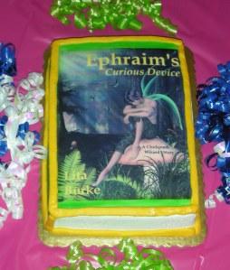 Ephraim's Book Launch Cake