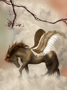 We know Pegasus, a Floating Lands horse