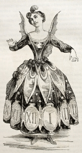 Lita Burke Gets All Dressed Up in Her Clockpunk Dress