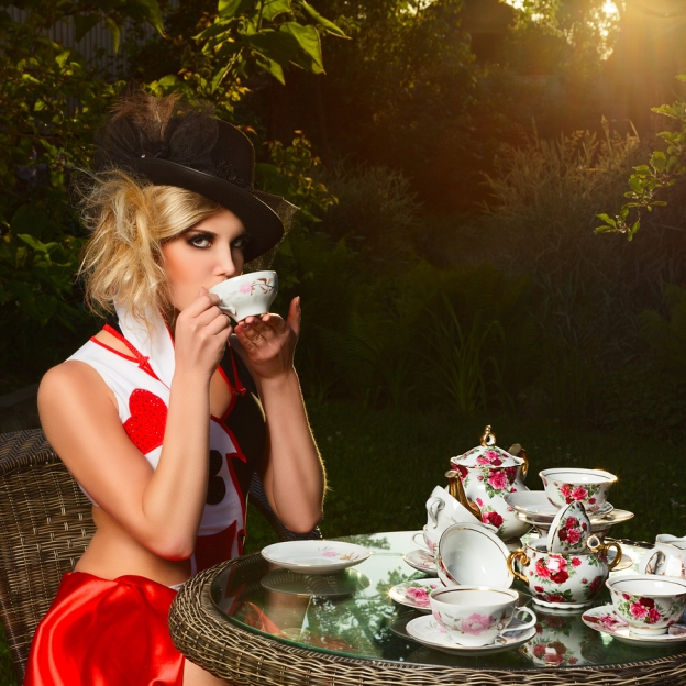 Stop by Lita Burke's Blog for a Cuppa Fantasy Fun
