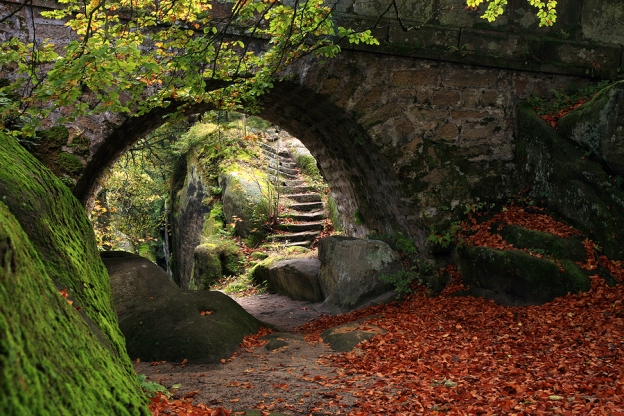 Passage to an Abandoned Chapel in Sye's Old Burial Yard