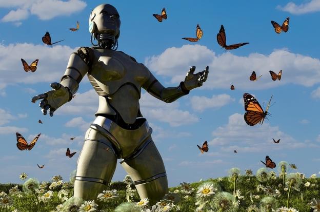 Homunculus and Butterflies