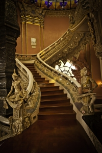 Climb the Grand Staircase to Visit the Enchanters