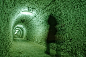 A Resident Ghost in the Old Church Catacombs at Isor