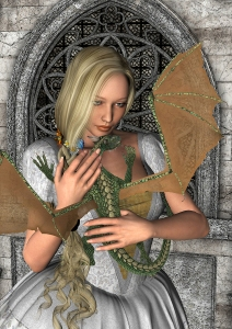 Tame Dragonettes Take Magical Essence From Enchanters