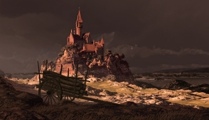 Sir Death's Castle on Undying Island, at Rim's Edge