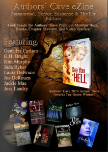 Authors Cave March 2015 Paranormal eZine