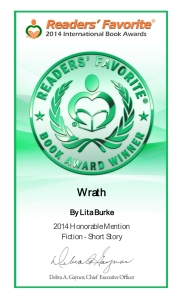 Wrath Earns Honorable Mention