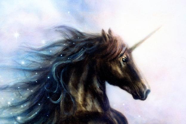 A Wuddlekins Island Unicorn