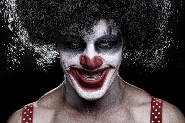 A Clown at the Evil Circus