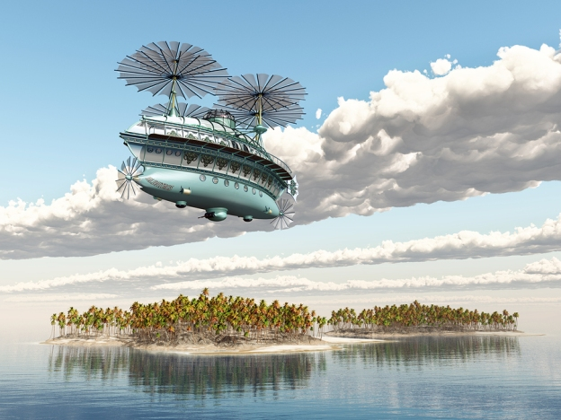 A Wizard's Airship